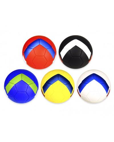 Мяч футбольный FB20141 № 5, PU, 350 грамм, MIX 5 цветов