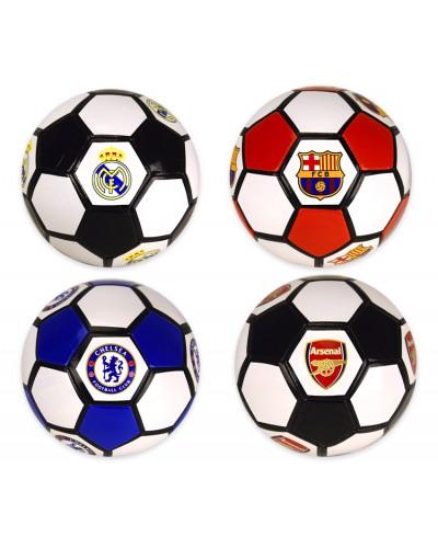Мяч футбольный Z00026  №5, PVC, 300 грамм, MIX 4 цвета
