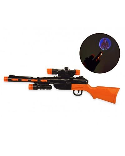 Ружье батар.  1162-13  свет, звук, в пакете 20*64 см, р-р игрушки – 60 см