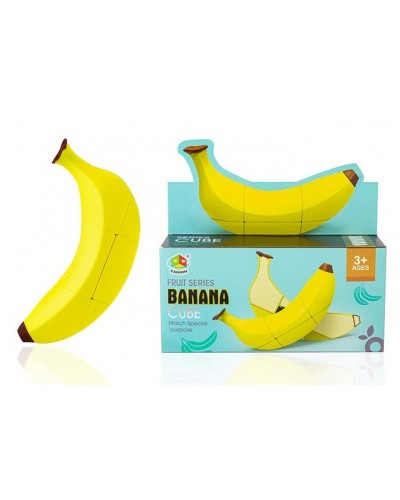Кубик логика FX8803 Банан, в коробке 16,5*4,5*4,5см