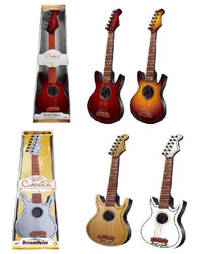 Гитара S-B25/31 4 вида микс, в коробке 25,6*7,5*78,5
