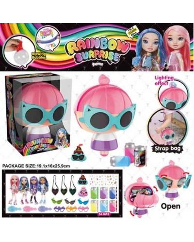 Игровой набор кукла BELA DOLLS SURPRISEs BL1168 сумка в форме fashion dolls, кукла 17,5 см