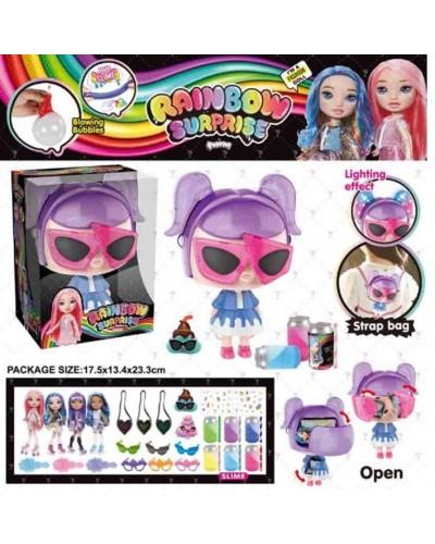 Игровой набор кукла BELA DOLLS SURPRISE BL1169 сумка в форме fashion dolls, в кот. т. кукла 17, 5см