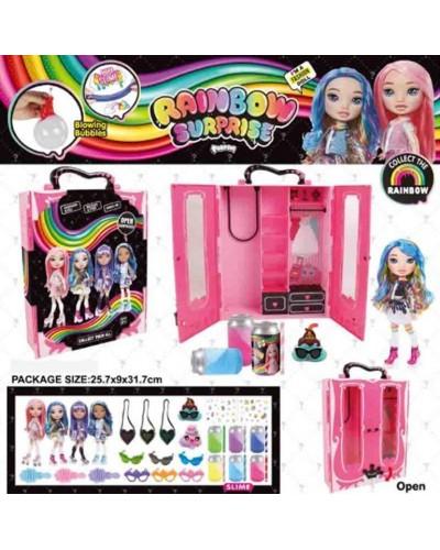 Игровой набор кукла BELA DOLLS SURPRISE BL1174 шкаф для одежды серии fashion dolls, кукла17,5 см