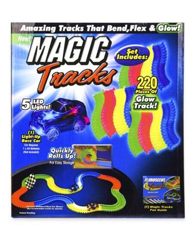 Трек Magic track 6688-73 светящийся в темноте,  в кор. 20,5*9*23,5см