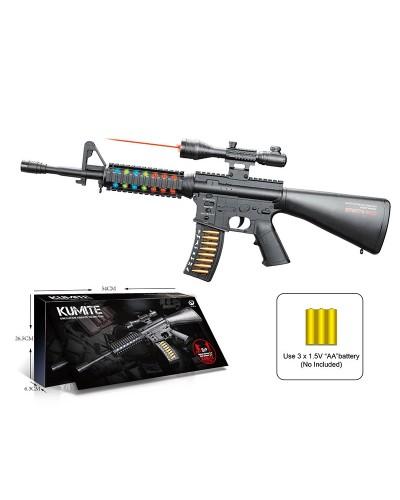 Оружие батар. JQ220-5B с лазерным прицелом, в кор.54*6,3*26,5см