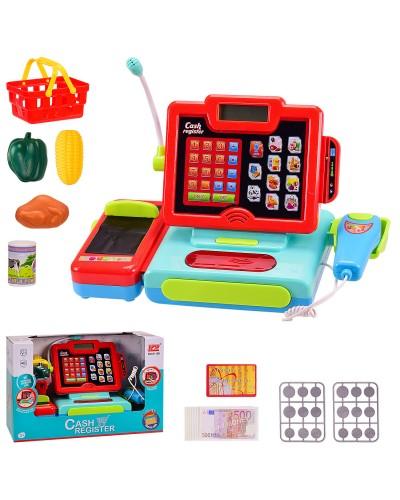 Кассовый аппарат 6116K калькулятор,сканер,микрофон,продукты,свет,звук,в кор. 36*16*23 см, р