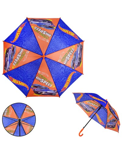 Детский зонт Hot Wheels PL8205 полиэстер, р-р трости – 67 см, диаметр в раскрытом виде – 86 см
