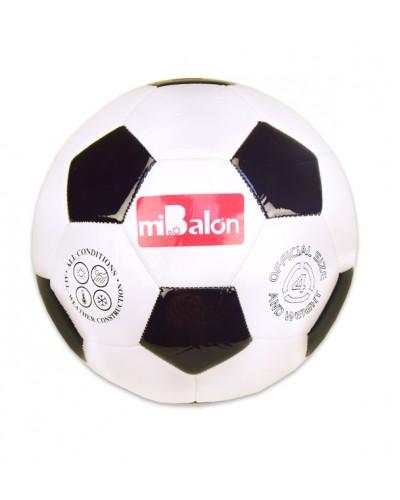 Мяч футбол E31226 №4, PVC, 200 грамм,1 цвет