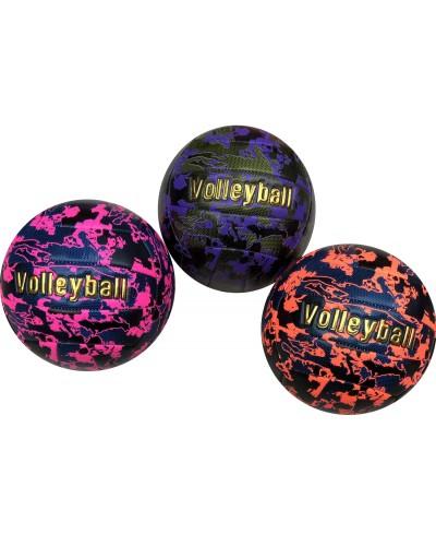 Мяч волейбольный VB2102 №5, PU 350 грамм, 3 цвета