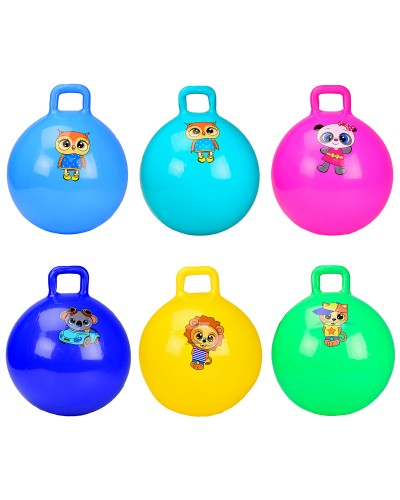 Мяч для фитнеса CB4502 гири 45 см 350 грамм, 6 цветов