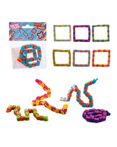 Антистресс AN1484 микс цветов, в пакете, р-р игрушки - 28*1*1 см