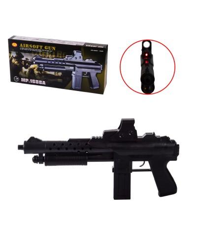 Автомат 1688A лазер, пульки, в коробке – 41.5*20*5.5 см, р-р игрушки – 40 см