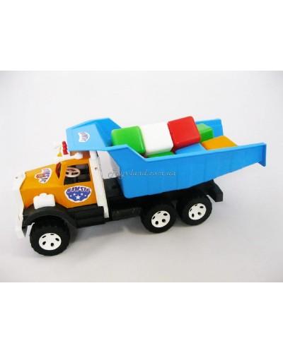 """Машина """"Самосвал Фарго"""" и набор маленьких кубиков, 009/4, Bamsic"""
