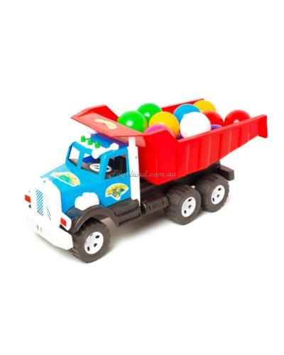 """Машина """"Самосвал Фарго"""" и набор маленьких шариков, арт. 009/3, Bamsic"""