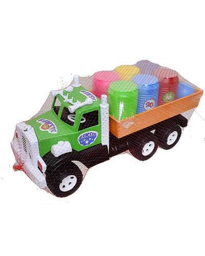 Набор детский «Фарго грузовик с бочонками» арт.3685 (47 х 20 х 17 см)