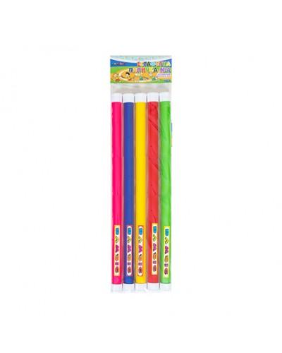 """Іграшка дитяча """"Естафетна  паличка №4 товста диам. 2,7 см довжина 35см (в наборе  5 шт) арт 0359"""