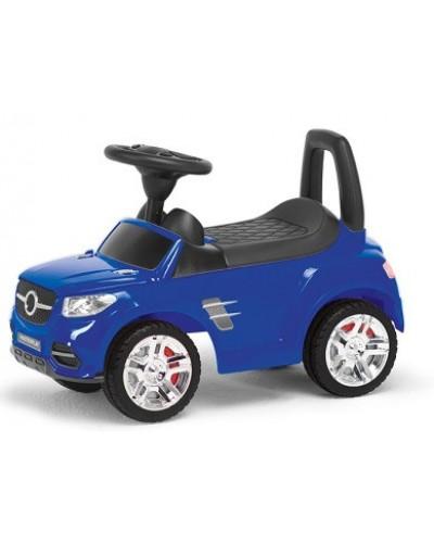 Дитяча машинка каталка (синій)