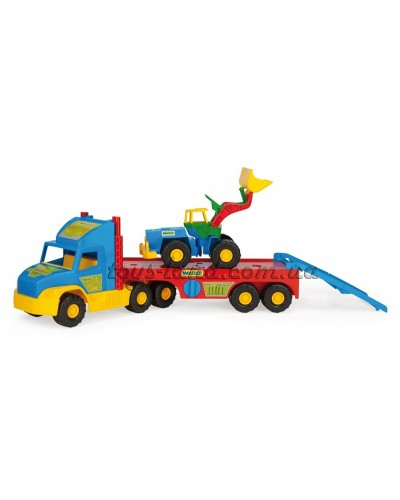 Super Truck тягач с трактором, арт. 36520, Wader