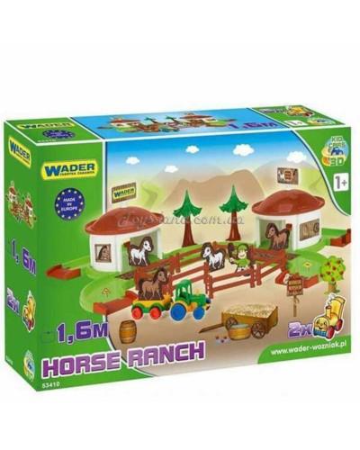 """Игровой набор """"Ранчо Kid Cars 3D"""", арт. 53410, Wader"""