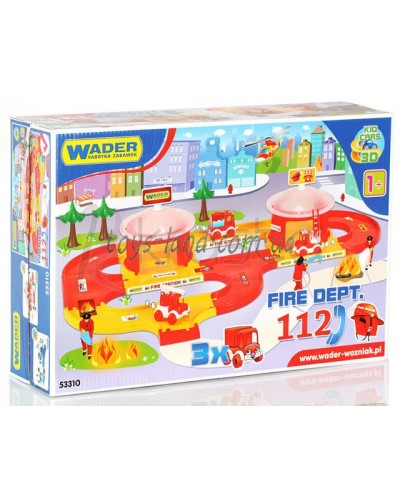 """""""Kid Cars 3D"""" - набір пожежна"""